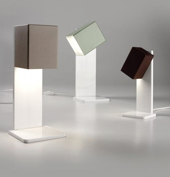Lampe A Poser Cubick Cattaneo Luminaire Led Design
