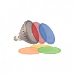 LED E27 COULEUR PAR-38